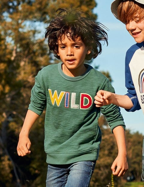 Textured Adventure Sweatshirt - Rosemary Green Wild