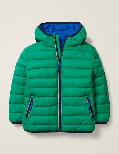 Pack-Away Padded Jacket - Hike Green