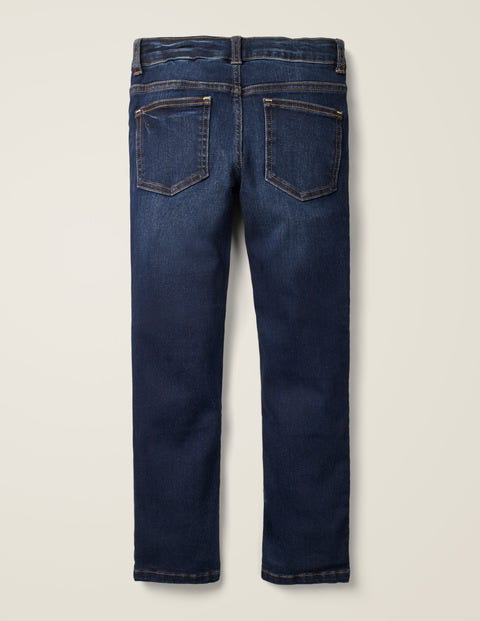 Schmale Jeans Mit Adventure Flex Dunkles Vintageblau