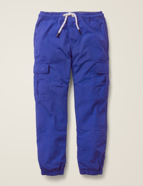 Lined Utility Cargo Trousers - Howlin Blue