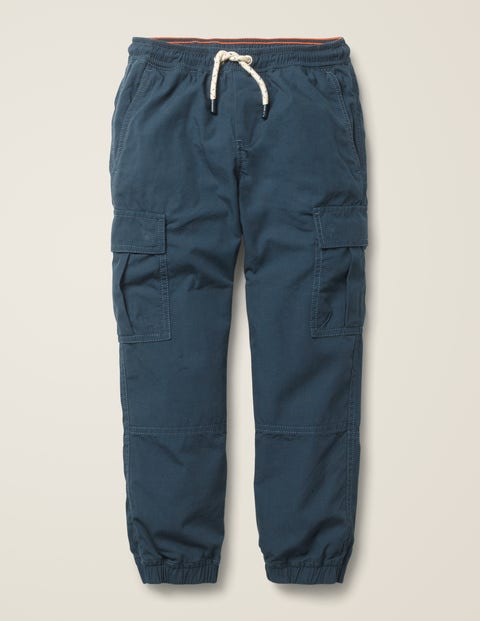 Lined Utility Cargo Pants - Stormy Blue