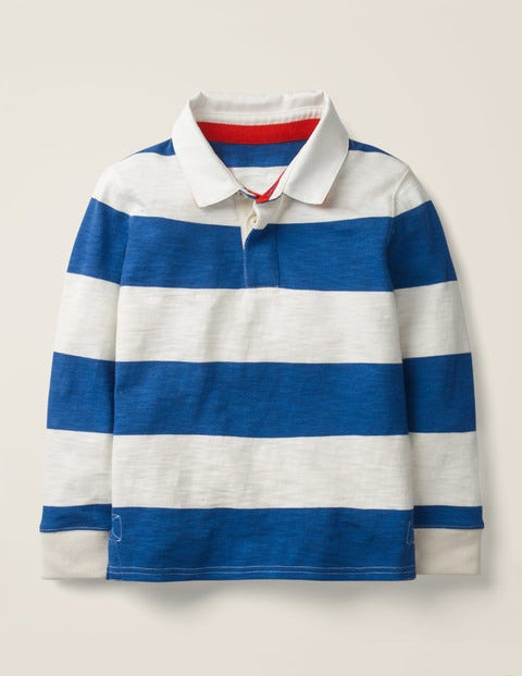 Rugby Shirt - Duke Blue/Ivory