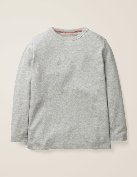 Essential Supersoft T-Shirt - Mid Grey Jaspé