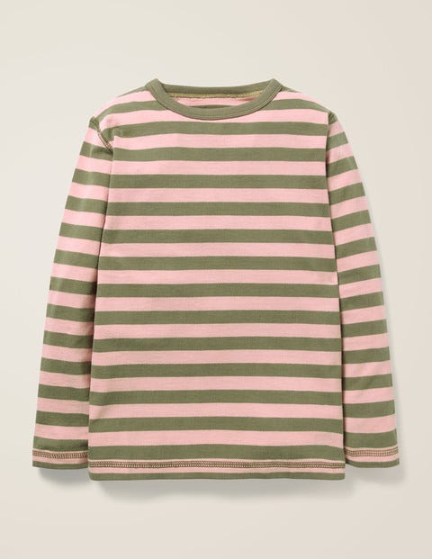 Essential Supersoft T-Shirt - Terrain Green/Suffolk Pink