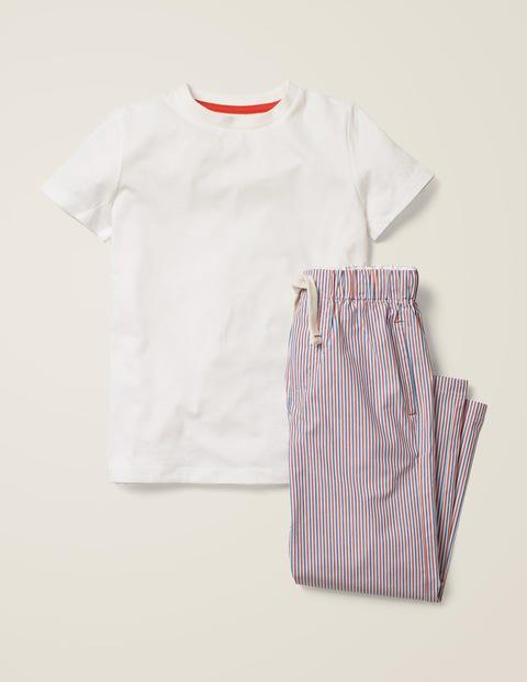 Pyjama - Bleu duc/rouge fusée