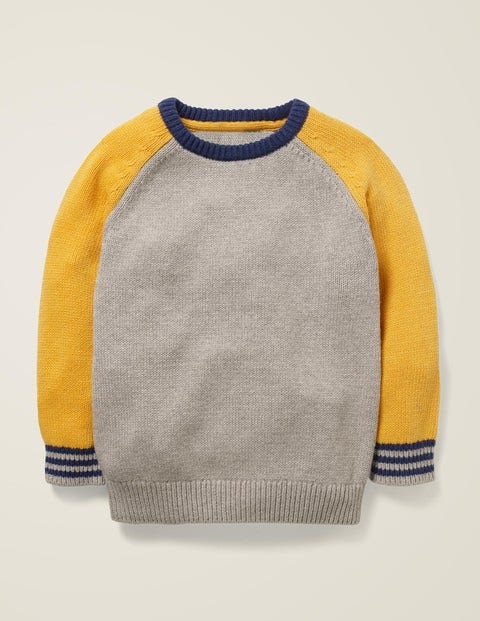 Colourblock Crew Jumper