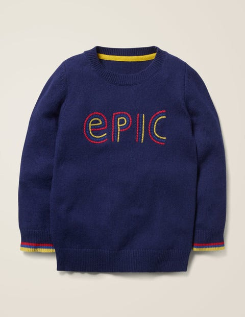 Graphic Crew Jumper