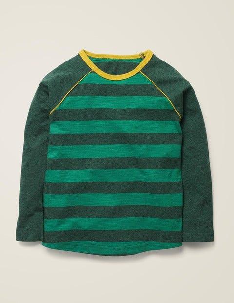 Raglan T-Shirt - Hike Green/Green Marl