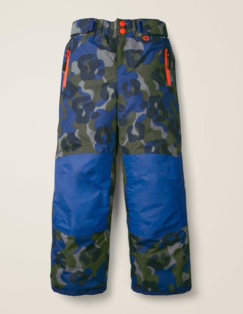 All-Weather Waterproof Trouser - Heron Blue/Camouflage
