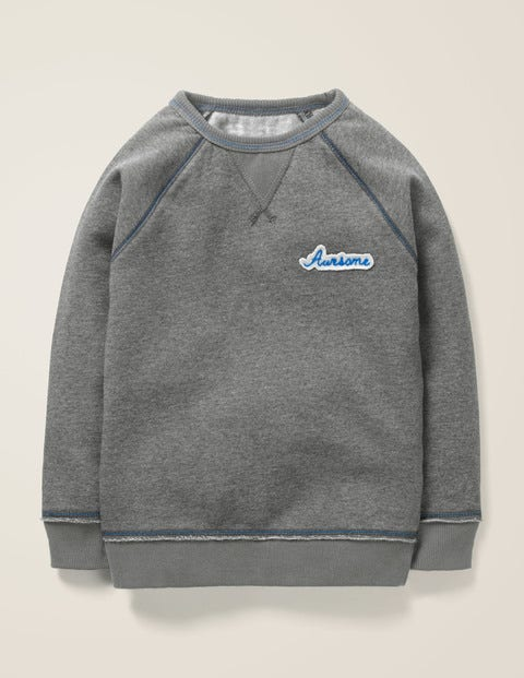 Awesome Sweatshirt - Dark Grey Awesome