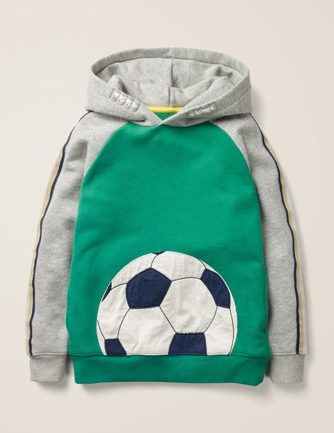 Football Hoodie - Hike Green Football