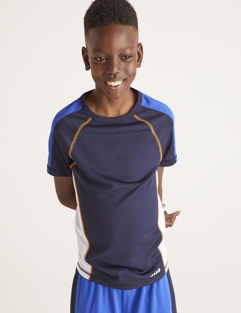 Active T-Shirt - Navy Blue