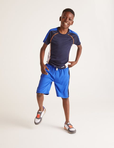 Active Shorts - Heron Blue
