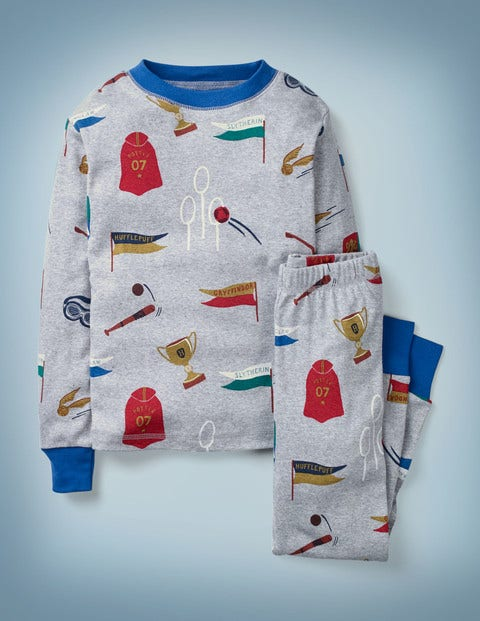 Harry Potter Long John Pyjamas - Multi Quidditch
