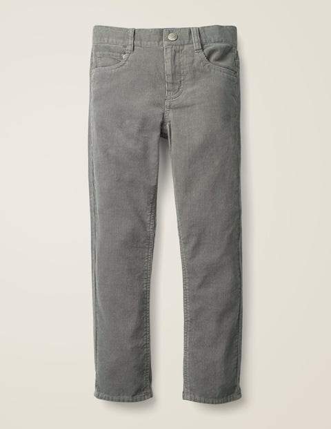 Slim Cord Jeans - Grey Marl Cord