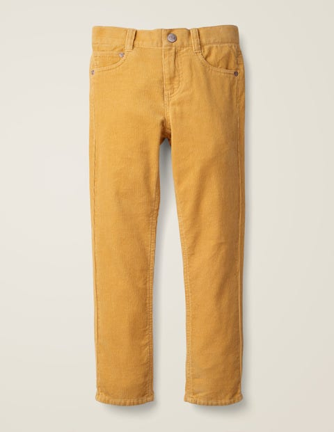 Slim Cord Jeans - Yellow Cord