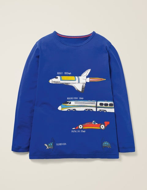 Speedy T-Shirt - Blue Heron Vehicles