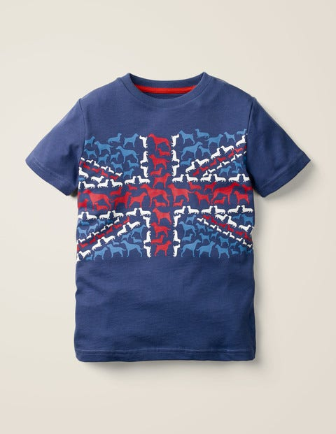 Union Jack T-Shirt - Starboard Blue Dogs
