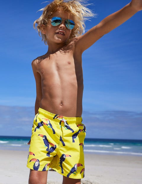 Woven Swim Trunks