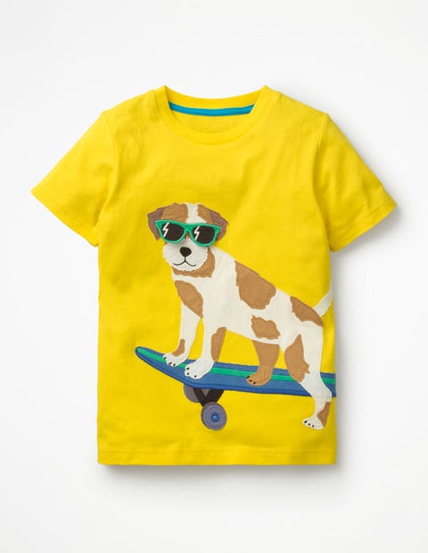 T-Shirt mit cooler Tierapplikation