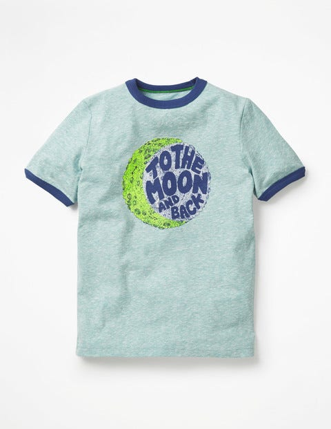 Zoom-To-The-Moon T-Shirt - Mineral Blue Moon