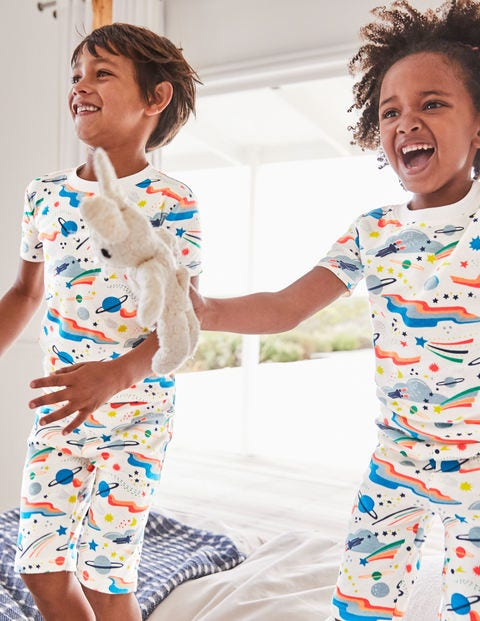Glow-In-The-Dark Space Pyjamas - Multi Lunar Landing