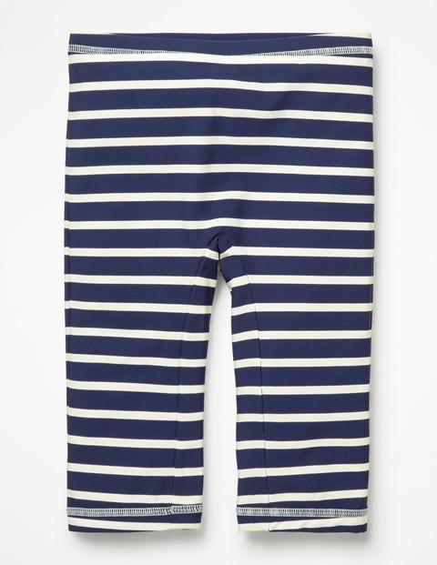 Sun Safe Shorts - College Blue/White