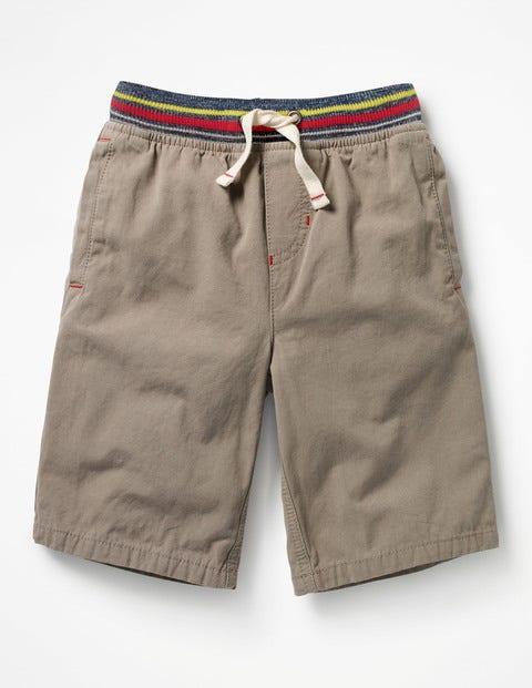 Rib Waist Shorts - Scout Green