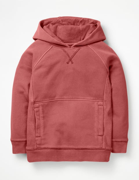 Garment-Dyed Hoodie - Washed Berry Pink
