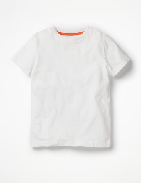 Slub Washed T-Shirt - White