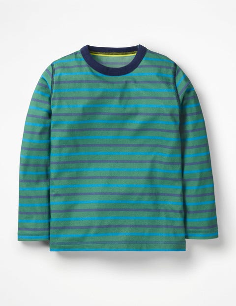 Supersoft T-Shirt - Rosemary Green/Electric Blue