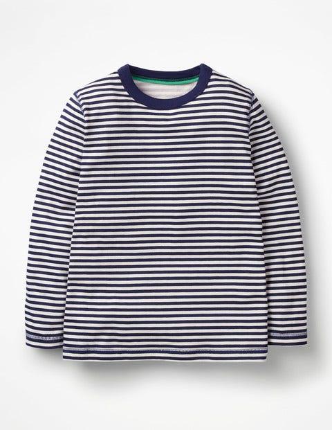 Supersoft T-Shirt - College Blue/Ecru