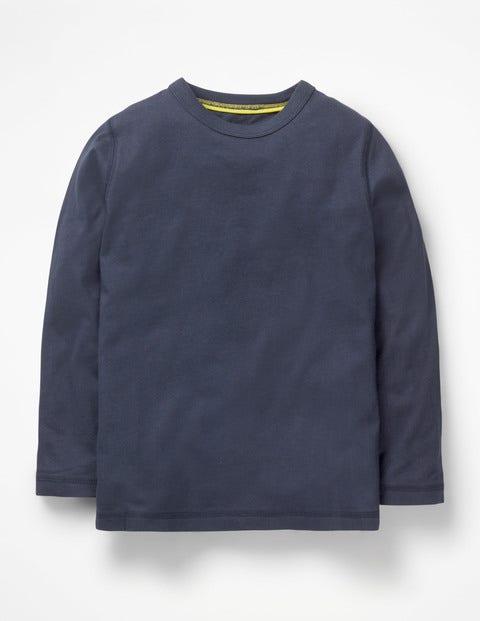 Superweiches T-Shirt - Navy Meliert
