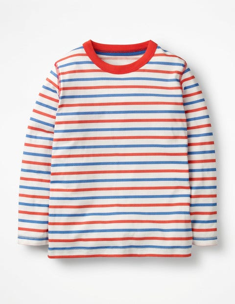 Supersoft T-Shirt - Ecru/Beam Red/Duke Blue