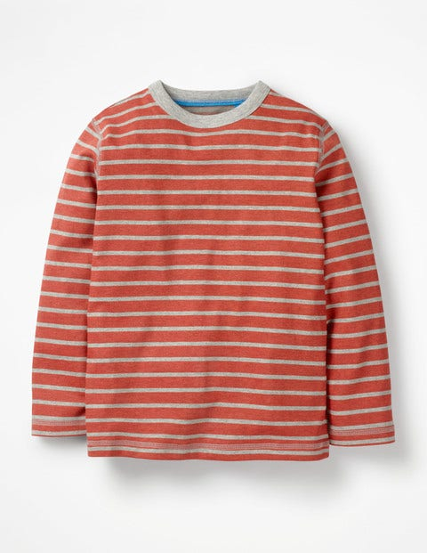 Supersoft T-Shirt - Beam Red/Grey Marl