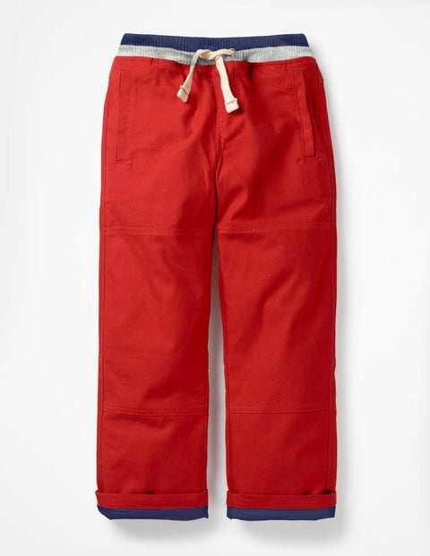 Lined Mariner Pants - Rockabilly Red