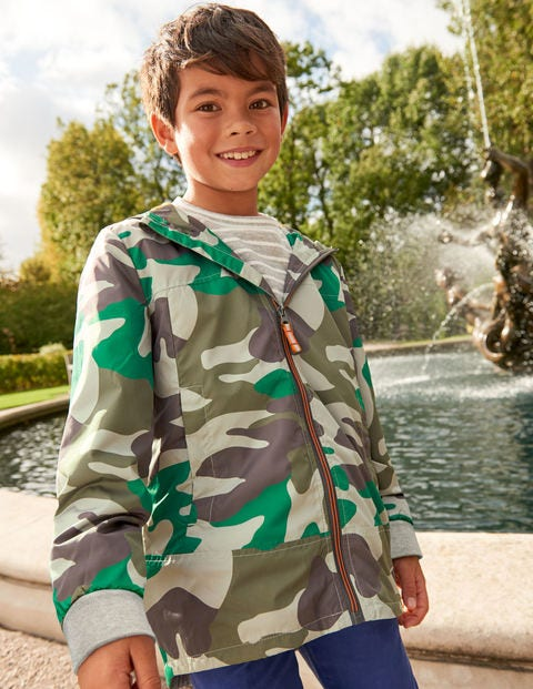 Shower Resistant Anorak - Watercress Green Camouflage