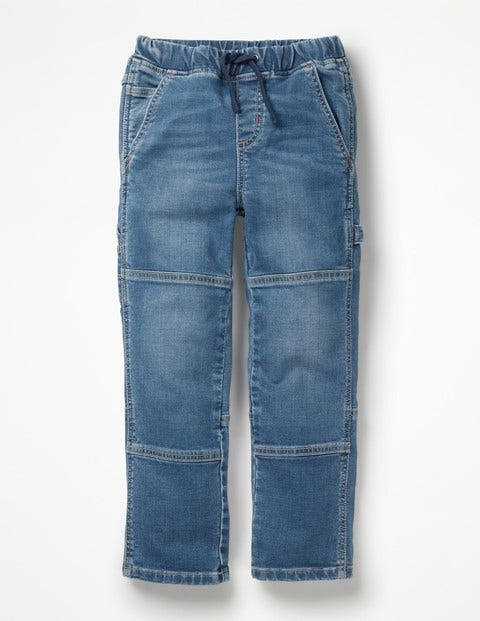 Pull-On Carpenter Trousers - Mid Vintage