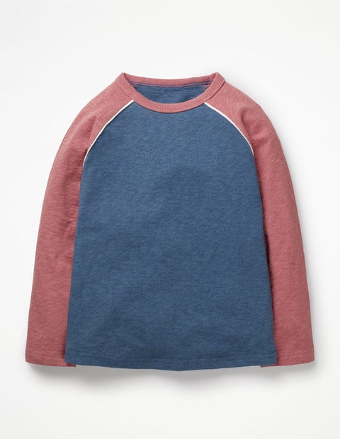 Raglan T-Shirt - Lagoon Blue Marl