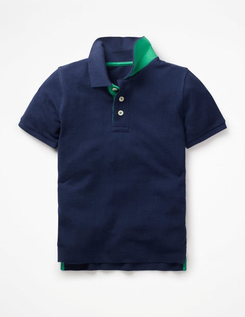 Piqué Polo Shirt - College Blue