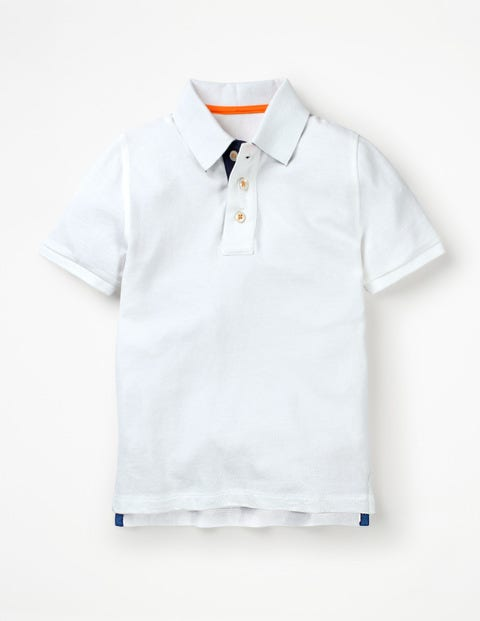 Piqué Polo Shirt - White