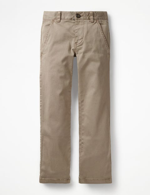 Chino Trousers - Nutty Brown
