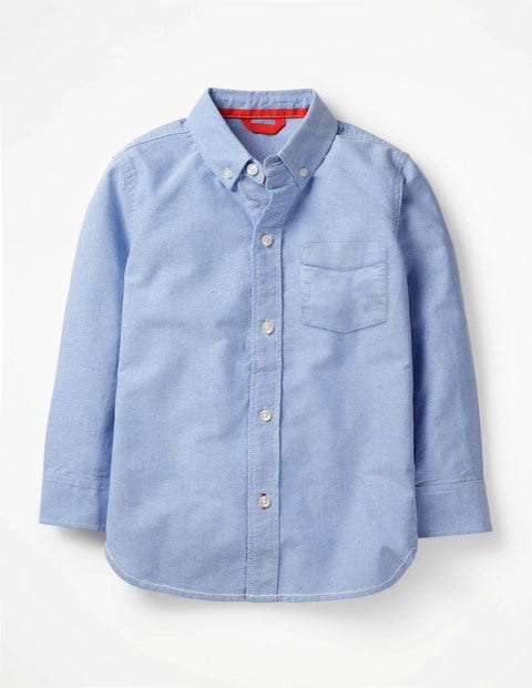 Oxford Shirt - Blue Oxford