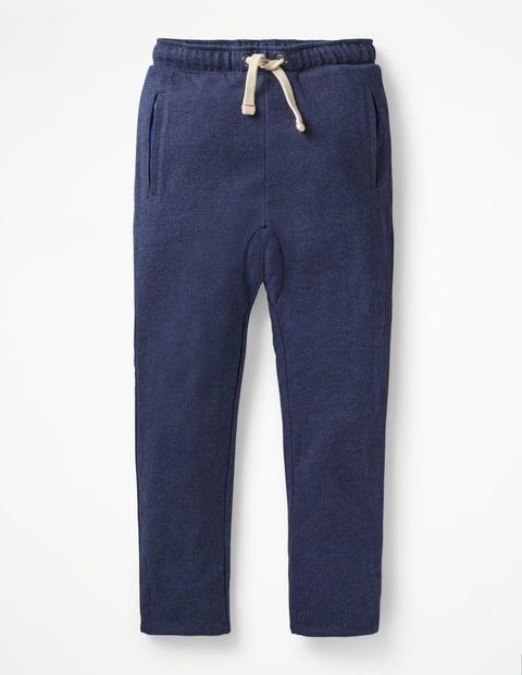Pantalon De Survêtement Relax Doublé - Bleu universitaire