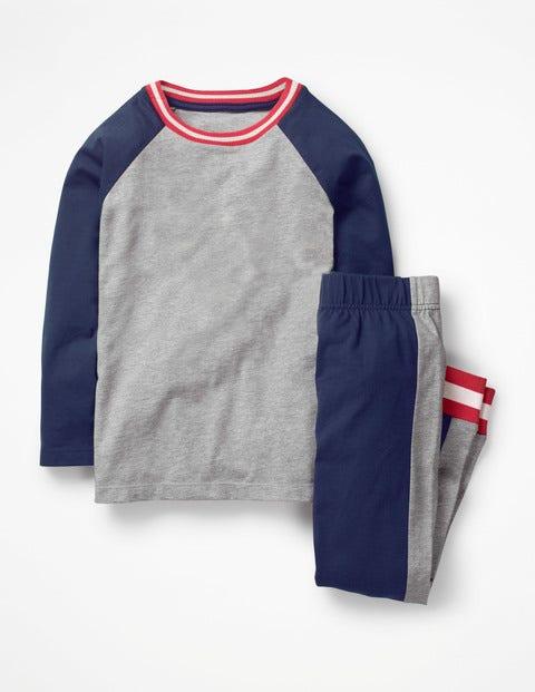 Sporty Pyjama Set - College Blue