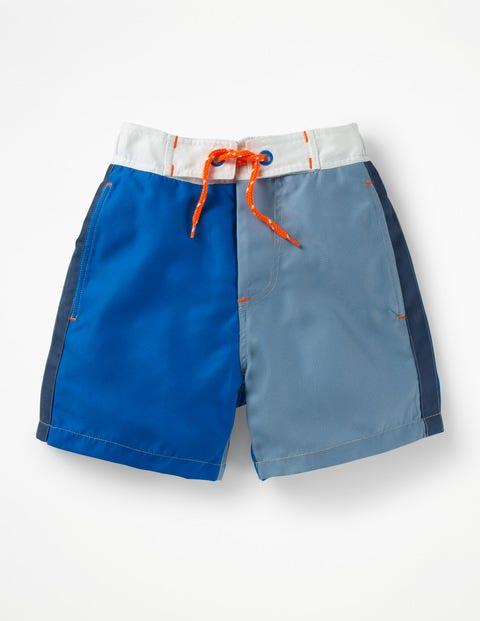 Pool-Shorts - Elektrisches Blau/Zaunkönigblau
