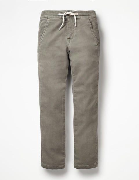Jersey Skinny Jeans - Grey Denim