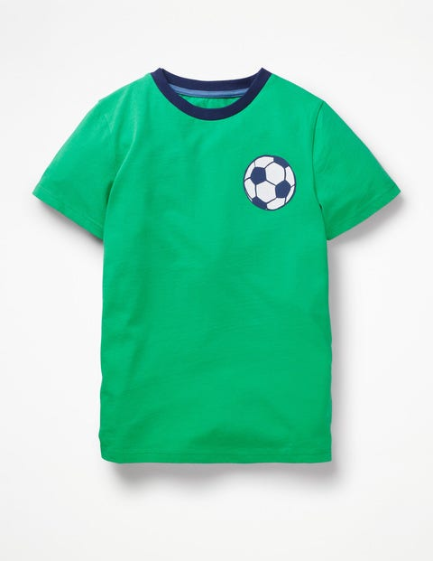 Printed Sports T-Shirt - Astro Green Football