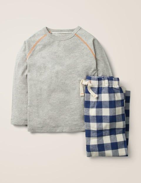 Gebürstetes Raglan-Pyjamaset