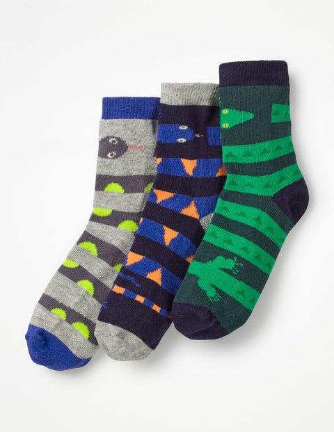 3 Pack Socks - Reptile
